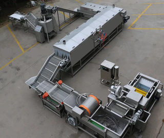 Canned Pineapple Fruit Canning Equipment 4kw Heavy Duty 29000 * 840 * 900mm