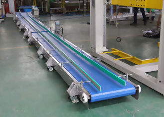 Modular Plastic Conveyor Belt , Milk Filling Line Food Grade Conveyor Belt