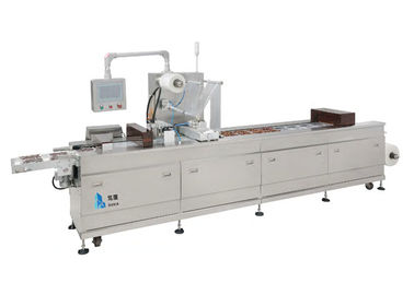 Thermoforming Industrial Vacuum Packaging Machine For Seafood / Pastry Noodles