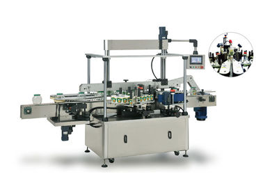 Square / Flat Bottle Two Side Labeling Machine With Excellent Stability