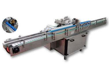 High Speed Wet Glue Labeling Machine , Bottle Sticker Labeling Machine