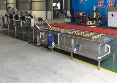Food Processing Food Cleaning Machine , Small Size Food Drying Machine