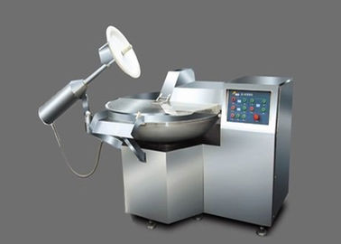 Meat Bowl Cutter Food Processing Equipment 17.6kw Stainless Steel Pot