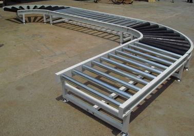 Customized Horizontal Food Conveyor System For Food Canning Delivery