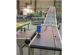 Frequency Control Belt Food Conveyor System For Food / Chemical Industry