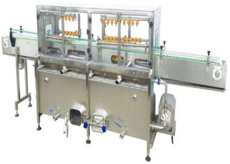 Glass Bottle Canning Factory Equipment , Filled Can Washing Machine