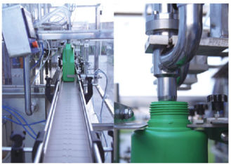 China Customized Auto Filling Production Line For Liquids Volumetric Filler supplier