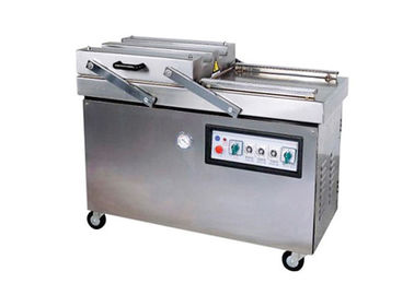 Commercial Double Chamber Vacuum Packaging Machine , Vacuum Food Sealer Machine