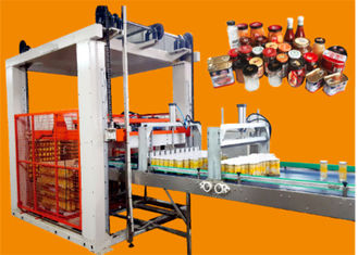 High Speed Food Packaging Systems Filled Iron Cans Automatic Palletizer Machine