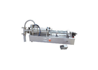 China Piston Semi Auto Filling Machine High Precision With Pneumatic Control supplier