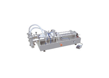 Double Headed Pneumatic Piston Filler Smooth Operation For Filling Liquids