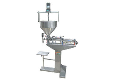 Floor Type Mixing Semi Auto Filling Machine For Bottling Posts Viscosity Filler