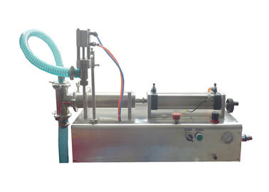 Slurry / Liquid Paste Semi Auto Filling Machine Quantitative For Chemical Industry