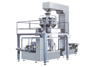 Safe Automatic Granule Packaging Machine , Weighing Bag Packaging Equipment