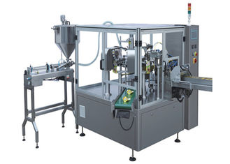 Full Automatic Vertical Packaging Machine Frequency Control For Paste Products
