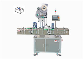 Upper Surface Automatic Labeling Machine Easy Operation For Bottle Cap / Bottom