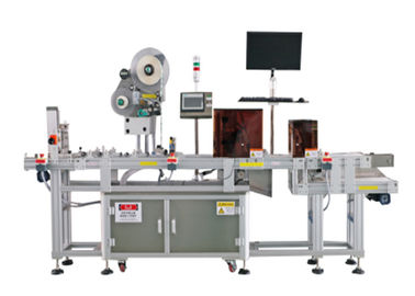 Adjustable Automated Labeling Machines , Clothing Tag / Cards Label Printing Machine