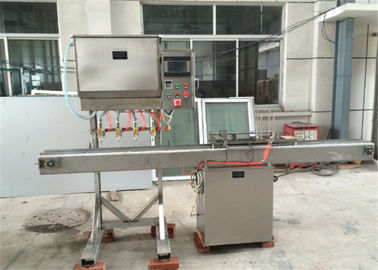 PLC Control Fish Canning Equipment Adding Soup Machine High Degree Automation