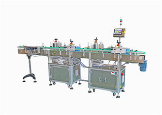 Automatic Round Bottle Labeling Machine , Cosmetic / Food Label Machine