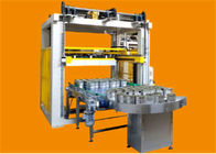 China Electrical Control Food Packaging Systems Filled Iron Can Depalletizer Machine company