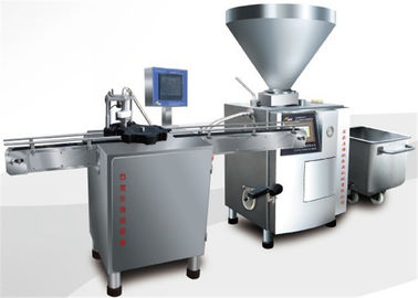 China High Speed Meat Canning Equipment Luncheon Meat Can Vacuum Filler Machine factory