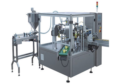 China Full Automatic Vertical Packaging Machine Frequency Control For Paste Products factory