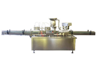 China Paste / Jam Automatic Bottle Filling And Capping Machine Custom Capacity factory